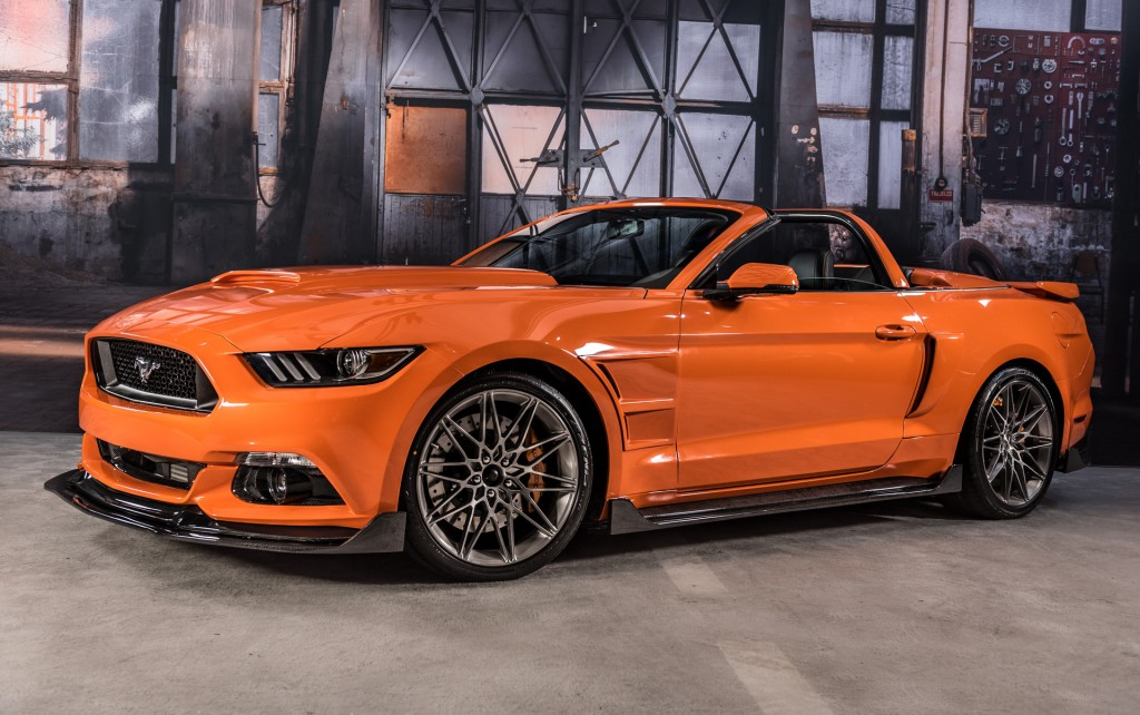Image: 2017 Ford Mustang by Stitchcraft, 2016 SEMA show ...