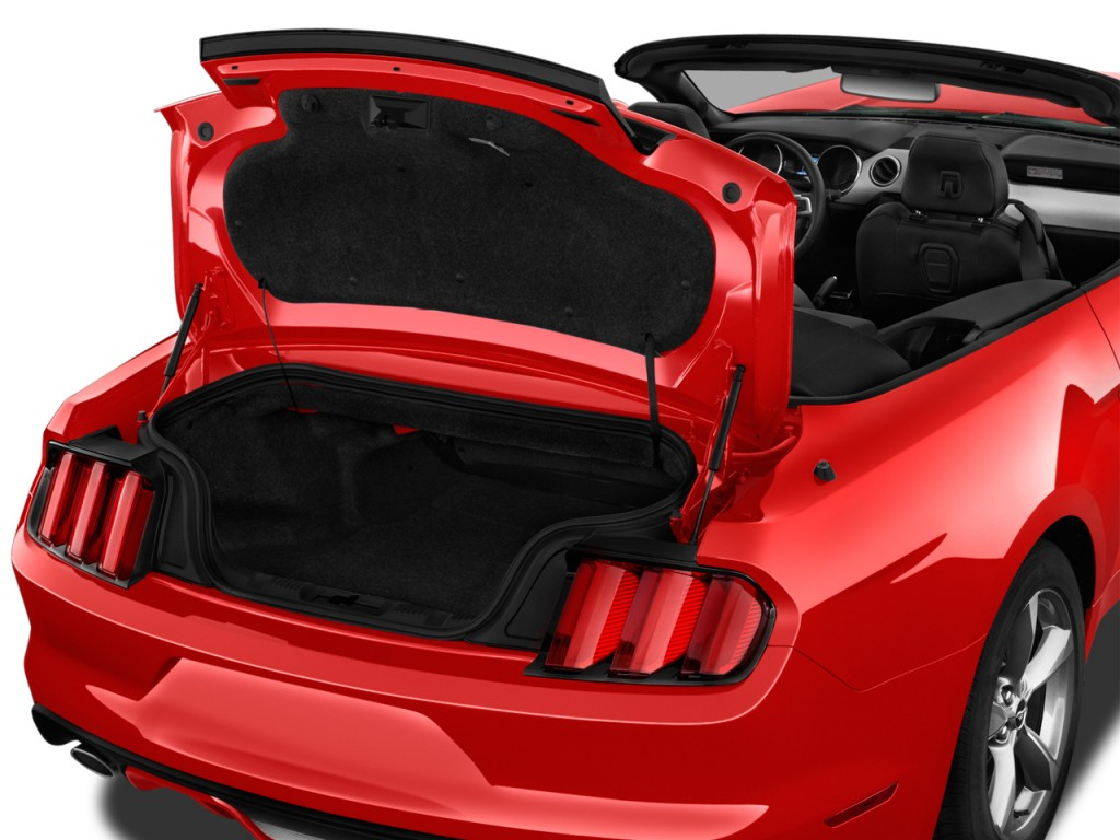 image 2017 ford mustang gt premium convertible trunk size 1024 x 768 type gif posted on. Black Bedroom Furniture Sets. Home Design Ideas