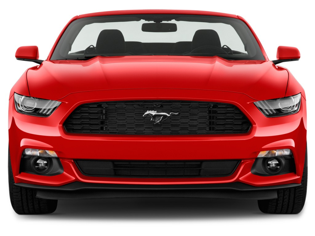 Image: 2017 Ford Mustang V6 Convertible Front Exterior ...