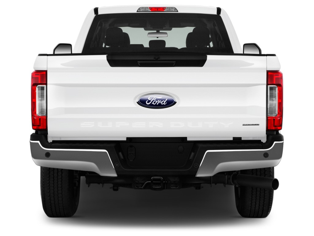 Image: 2017 Ford Super Duty F-250 SRW XLT 2WD SuperCab 8' Box Rear Exterior View, size: 1024 x ...