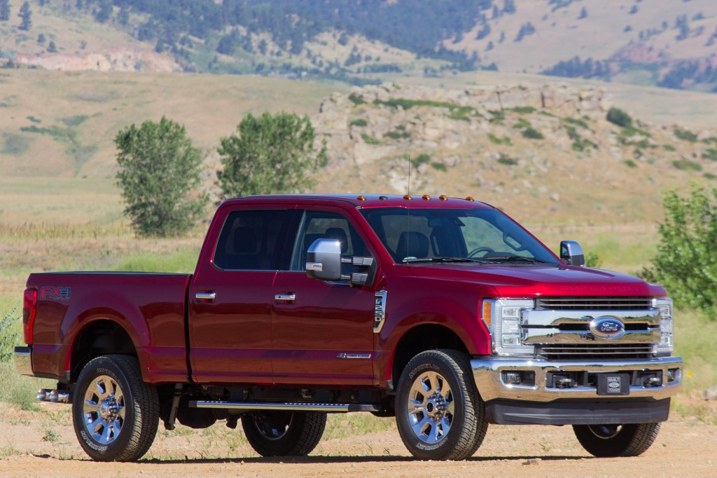 does it matter that the new 2017 ford super duty is aluminum like the f 150. Black Bedroom Furniture Sets. Home Design Ideas