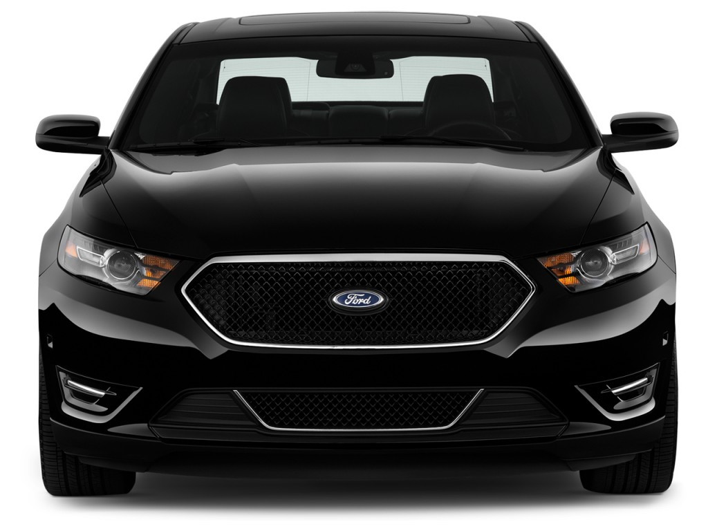 Image: 2017 Ford Taurus SHO AWD Front Exterior View, size ...