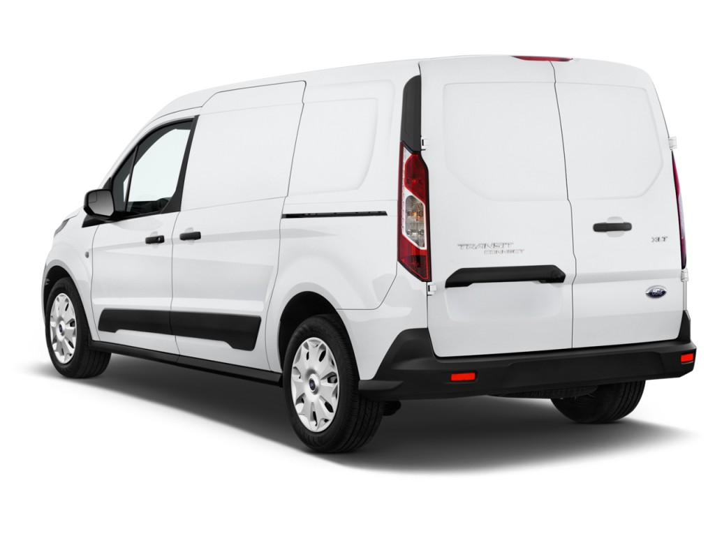 Image 2017 Ford Transit Connect Van Xlt Lwb W Rear Liftgate Angular Rear Exterior View Size