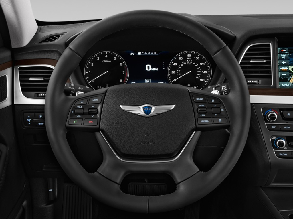 Lexus Supercharger 2017 >> Image: 2017 Genesis G80 3.8L AWD Steering Wheel, size: 1024 x 768, type: gif, posted on ...