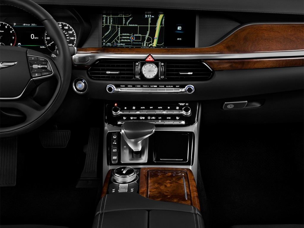 image 2017 genesis g90 5 0l ultimate rwd instrument panel size 1024 x 768 type gif posted. Black Bedroom Furniture Sets. Home Design Ideas