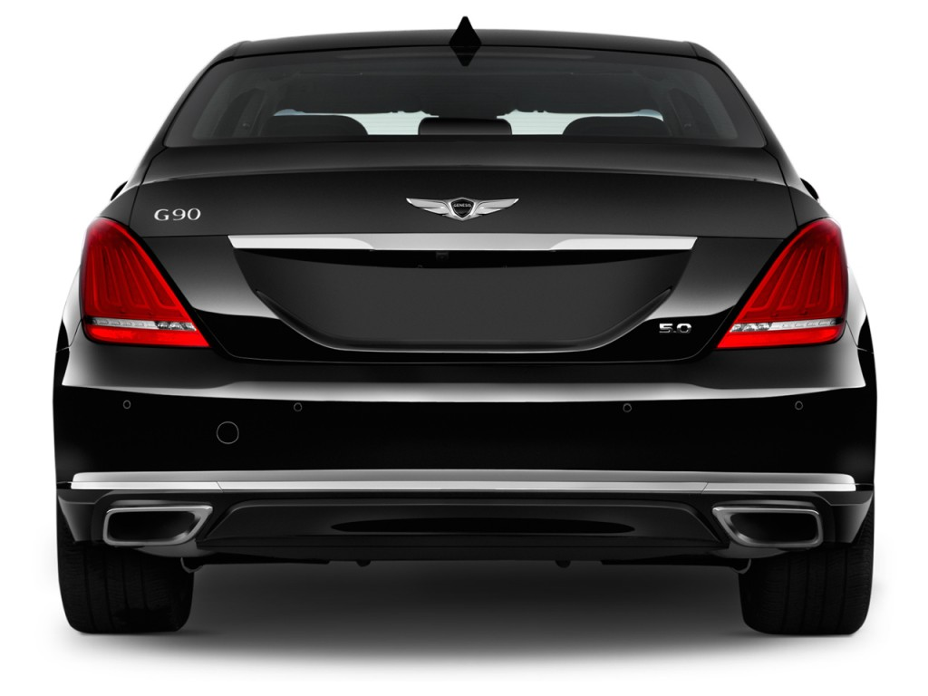 image 2017 genesis g90 5 0l ultimate rwd rear exterior view size 1024 x 768 type gif. Black Bedroom Furniture Sets. Home Design Ideas