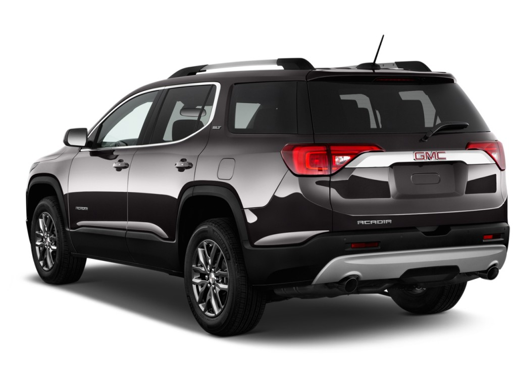Image: 2017 GMC Acadia FWD 4-door SLT w/SLT-1 Angular Rear ...