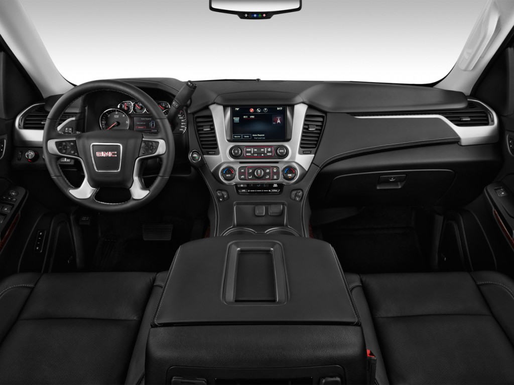 image 2017 gmc yukon xl 2wd 4 door slt dashboard size 1024 x 768 type gif posted on. Black Bedroom Furniture Sets. Home Design Ideas