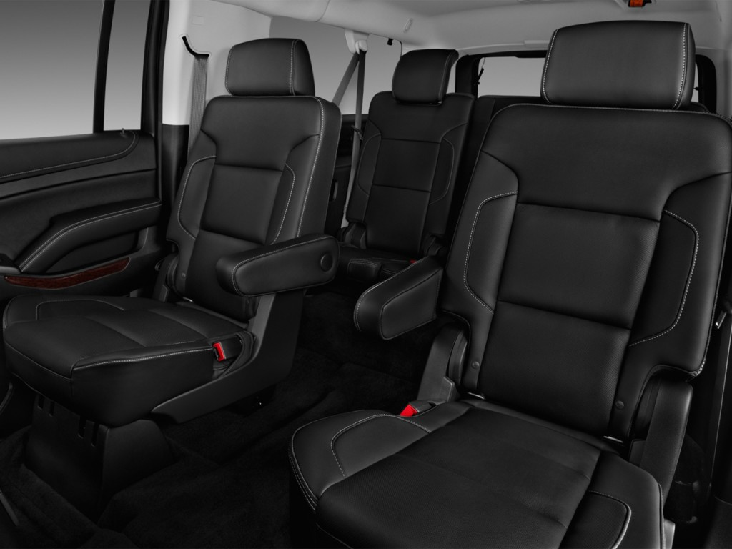Image: 2017 GMC Yukon XL 2WD 4-door SLT Rear Seats, size ...