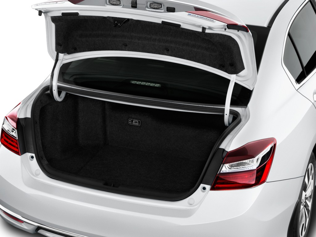 Image 2017 Honda Accord Hybrid Sedan Trunk Size 1024 X