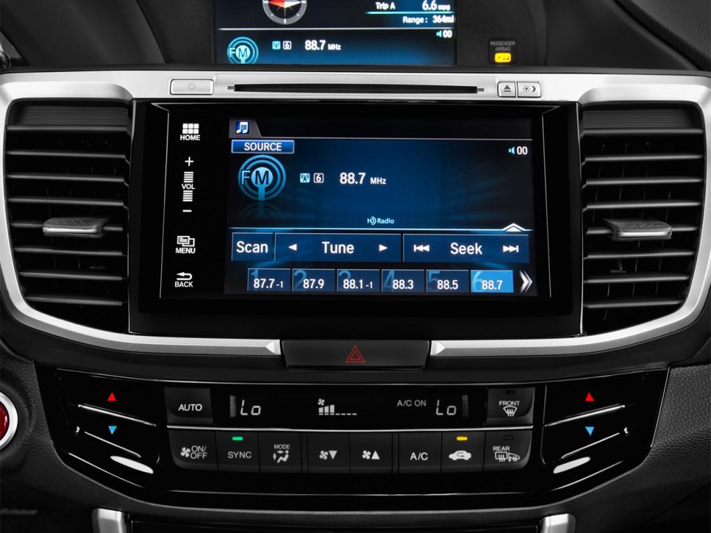 Image 2017 honda accord sedan ex l v6 auto audio system for 2017 honda accord ex l v6 sedan