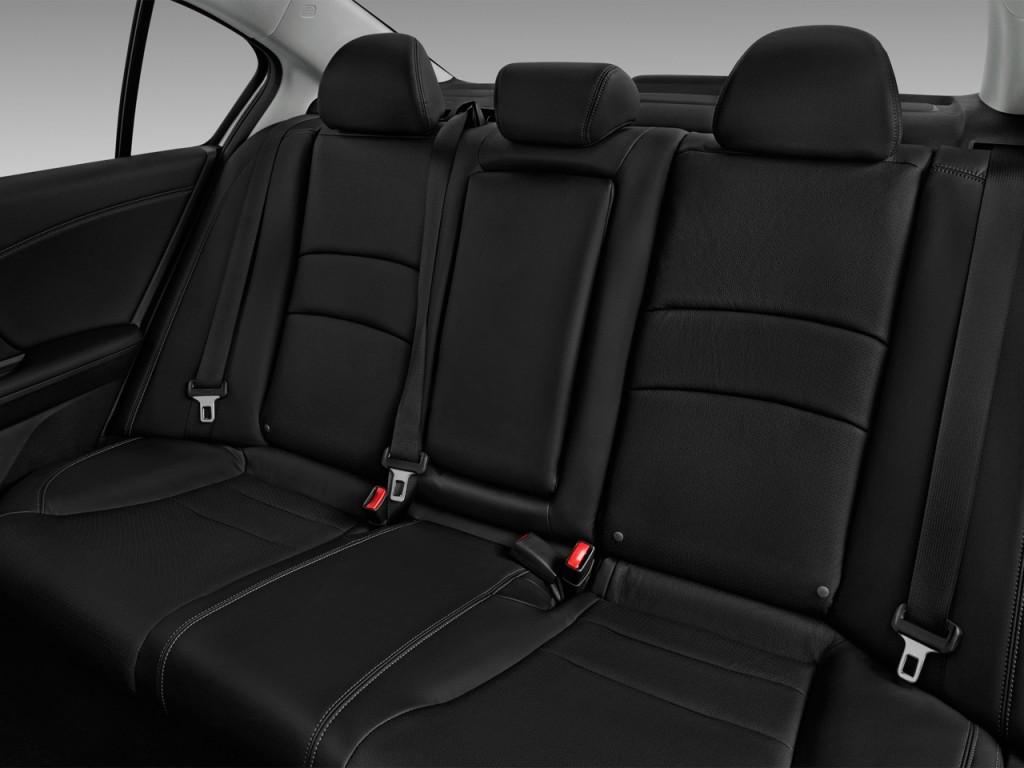 Image: 2017 Honda Accord Sedan EX-L V6 Auto Rear Seats ...