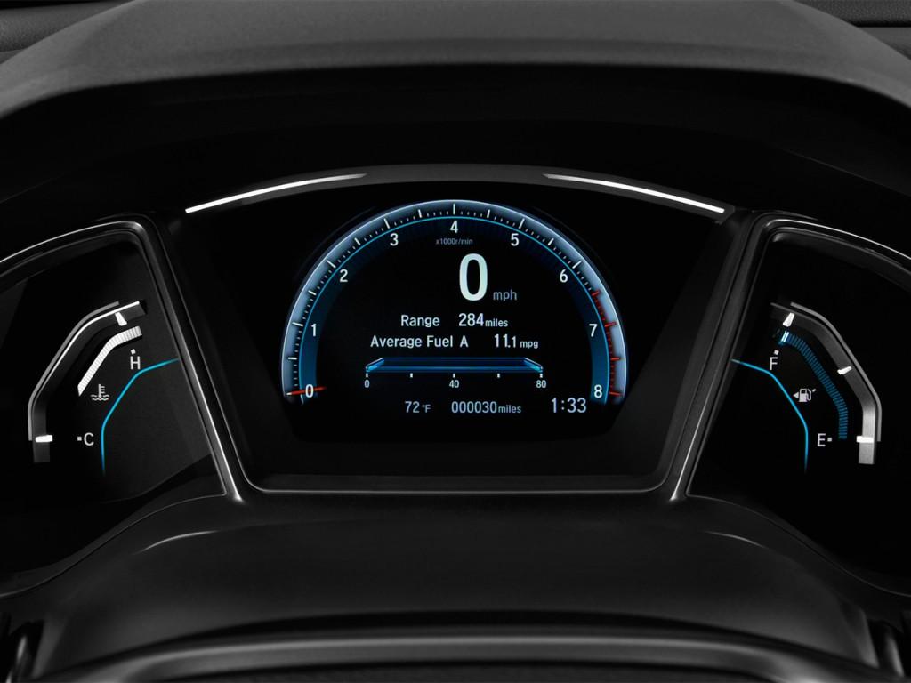 Image 2017 Honda Civic Hatchback Ex Cvt Instrument