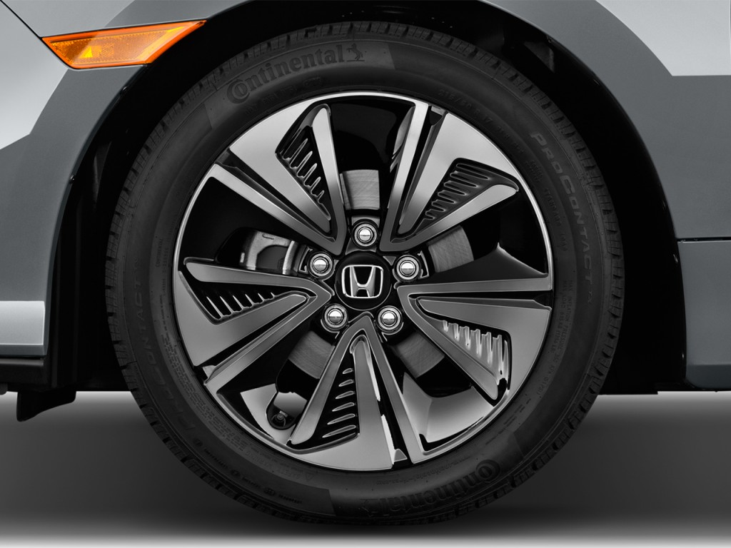 Honda Pilot Gas Mileage >> Image: 2017 Honda Civic Hatchback EX CVT Wheel Cap, size: 1024 x 768, type: gif, posted on ...