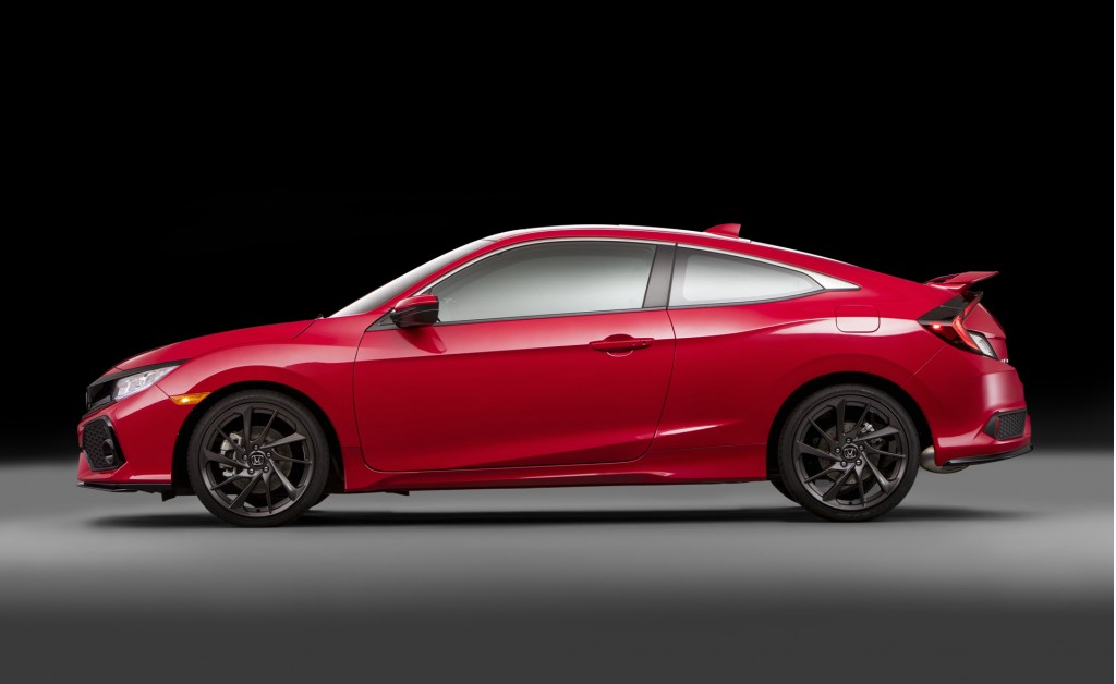 Image 2017 honda civic si coupe prototype 2016 los for Honda civic si for sale in los angeles