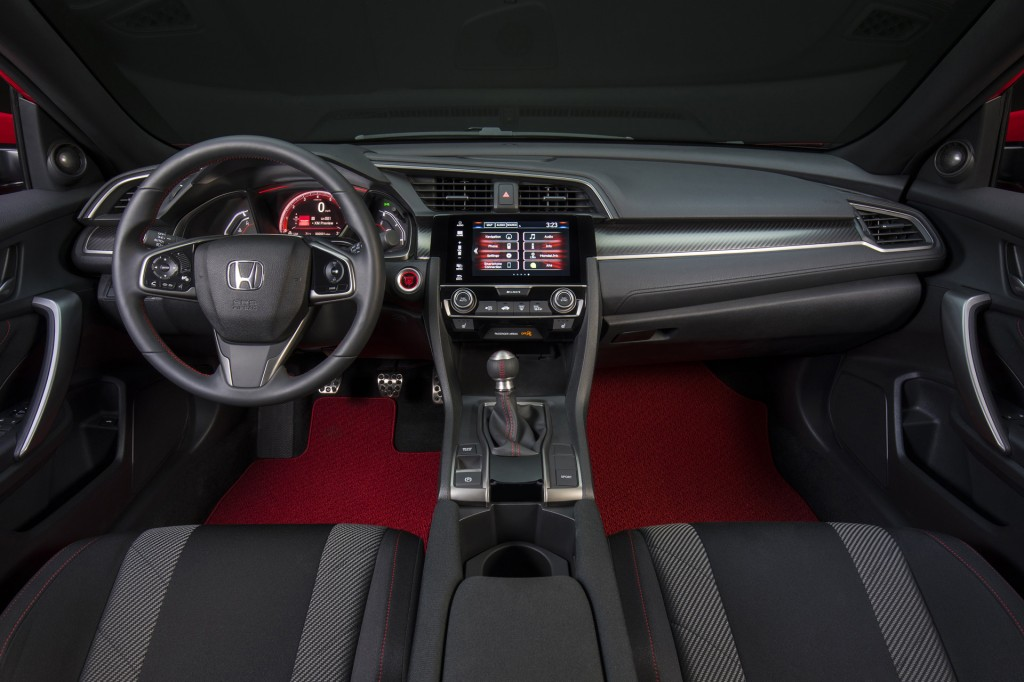 2017 Honda Civic Si Coupe prototype, 2016 Los Angeles auto show