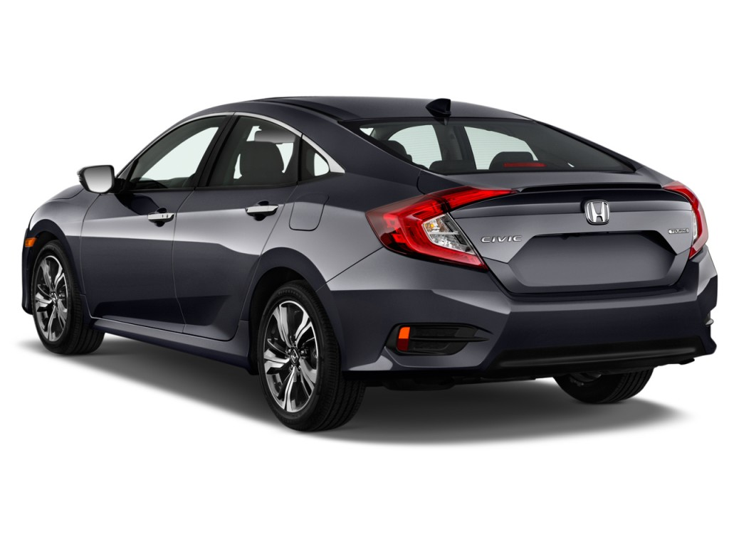 Image 2017 Honda Civic Touring Cvt Angular Rear Exterior