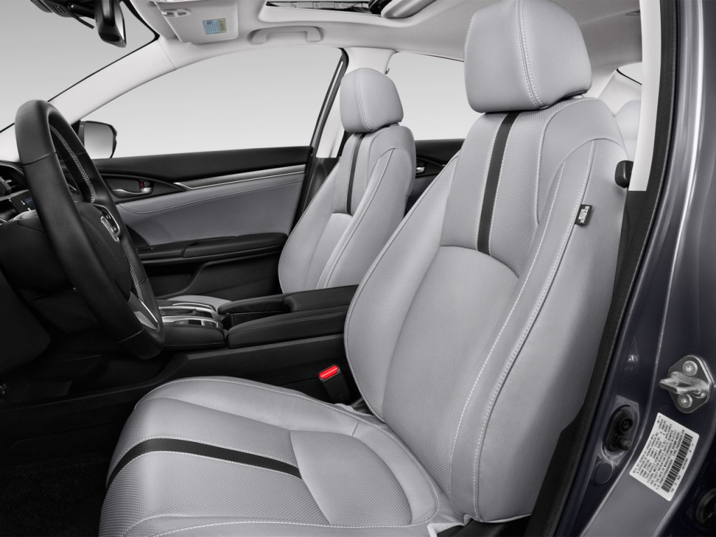 image 2017 honda civic touring cvt front seats size. Black Bedroom Furniture Sets. Home Design Ideas