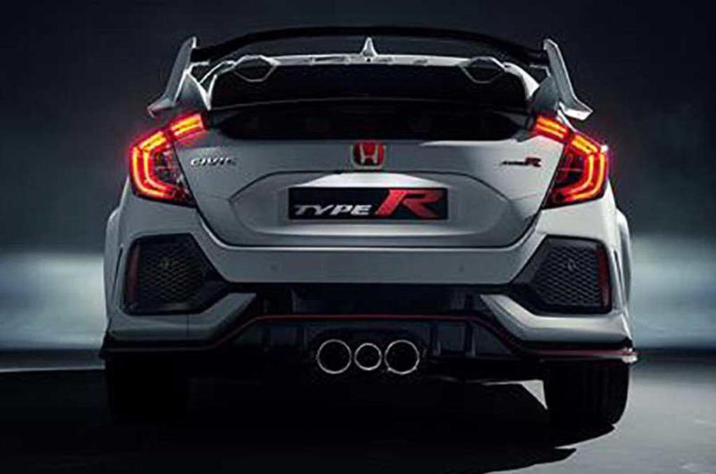 2017 Honda Civic Type R leaked - Image via Autocar