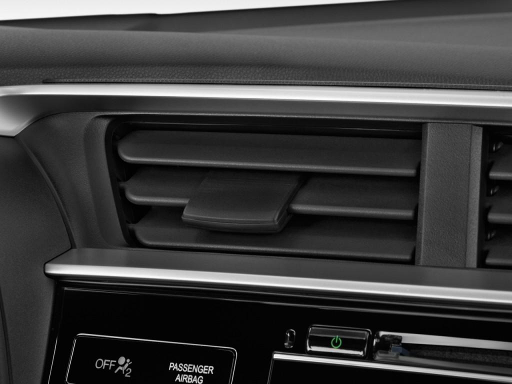 Image: 2017 Honda Fit EX CVT Air Vents, size: 1024 x 768 ...
