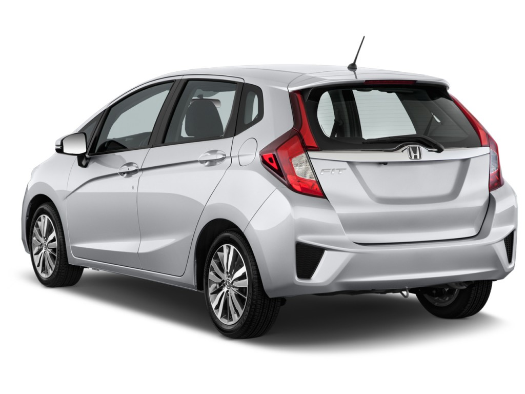 Image 2017 Honda Fit Ex Cvt Angular Rear Exterior View