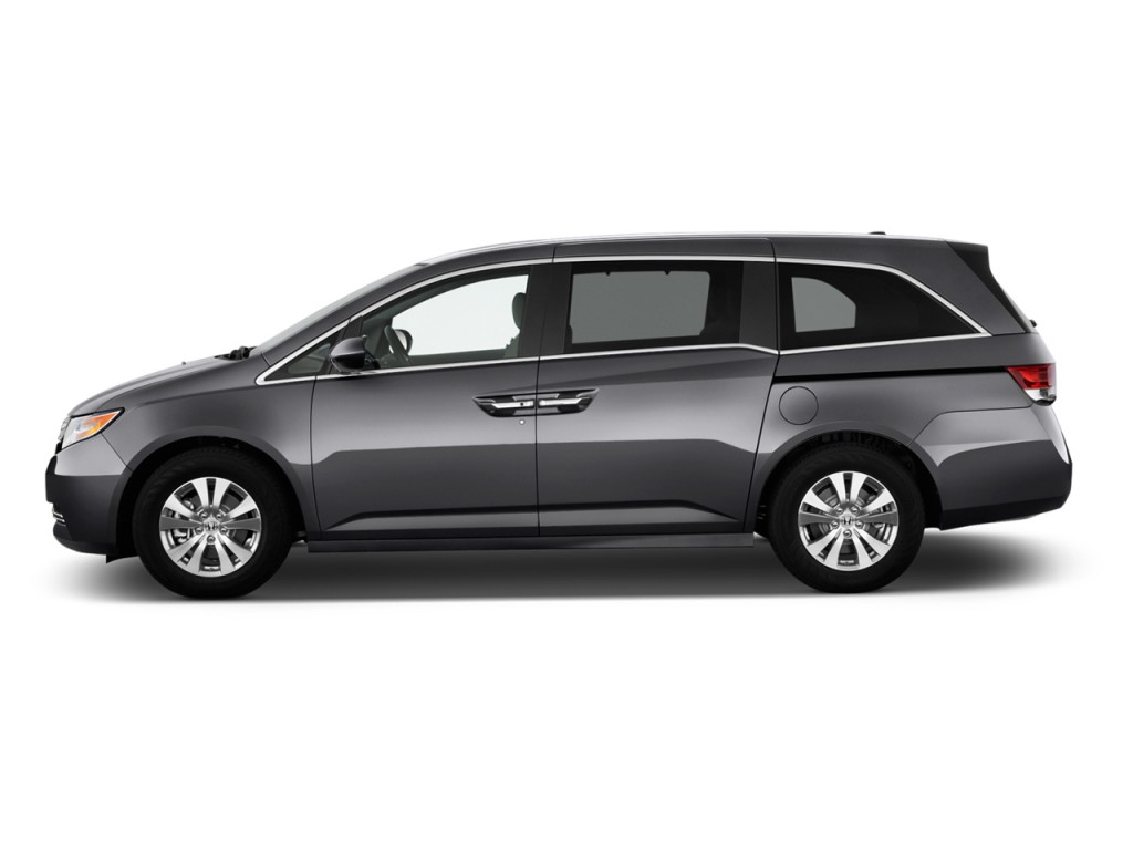 Image 2017 Honda Odyssey Ex L Auto Side Exterior View Size 1024 X 768 Type Gif Posted On
