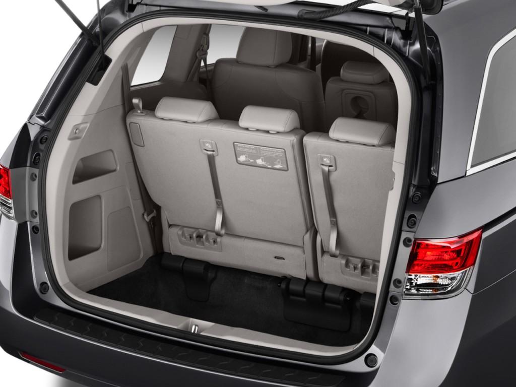 Image 2017 Honda Odyssey Ex L Auto Trunk Size 1024 X