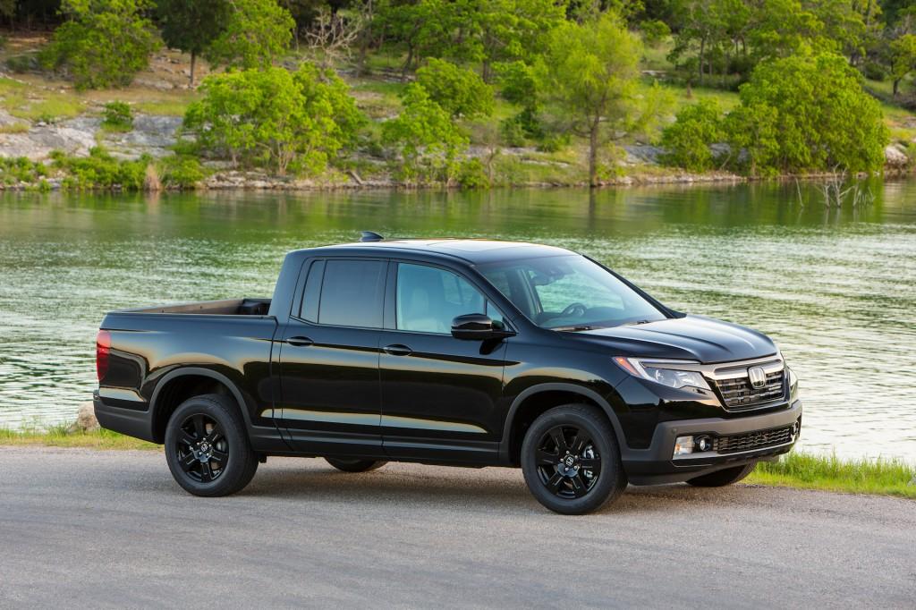 Image 2017 Honda Ridgeline Black Edition Size 1024 X
