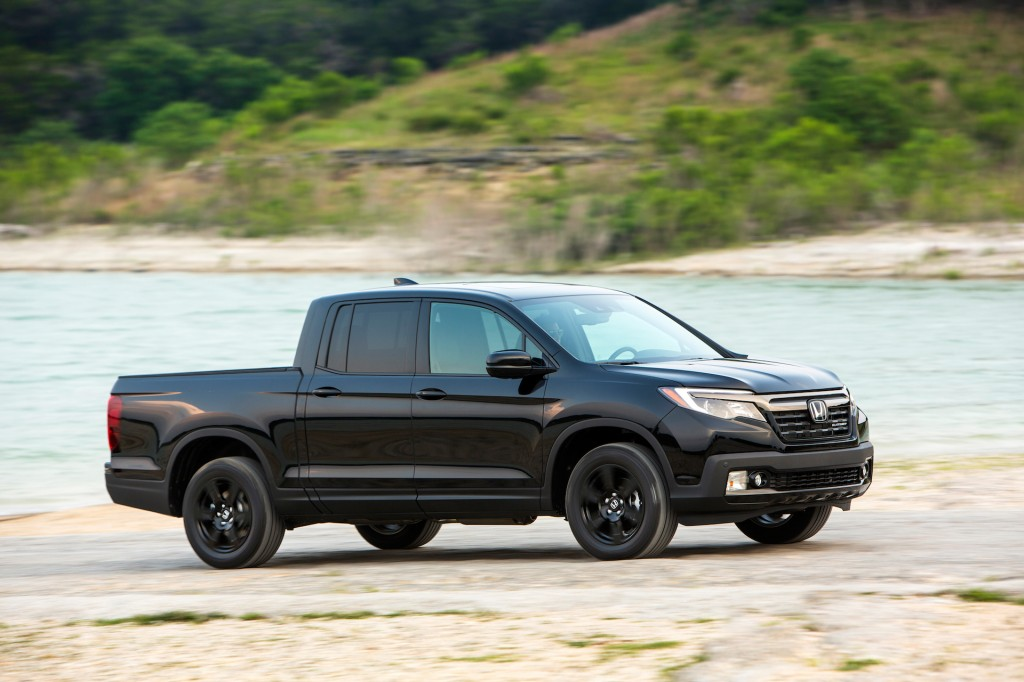 Image Result For Honda Ridgeline Black Edition