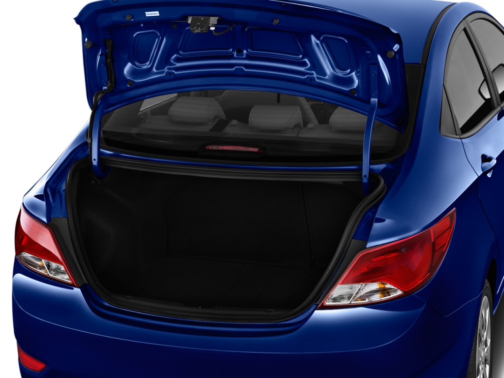 Hyundai Accent Se Sedan Automatic Trunk L