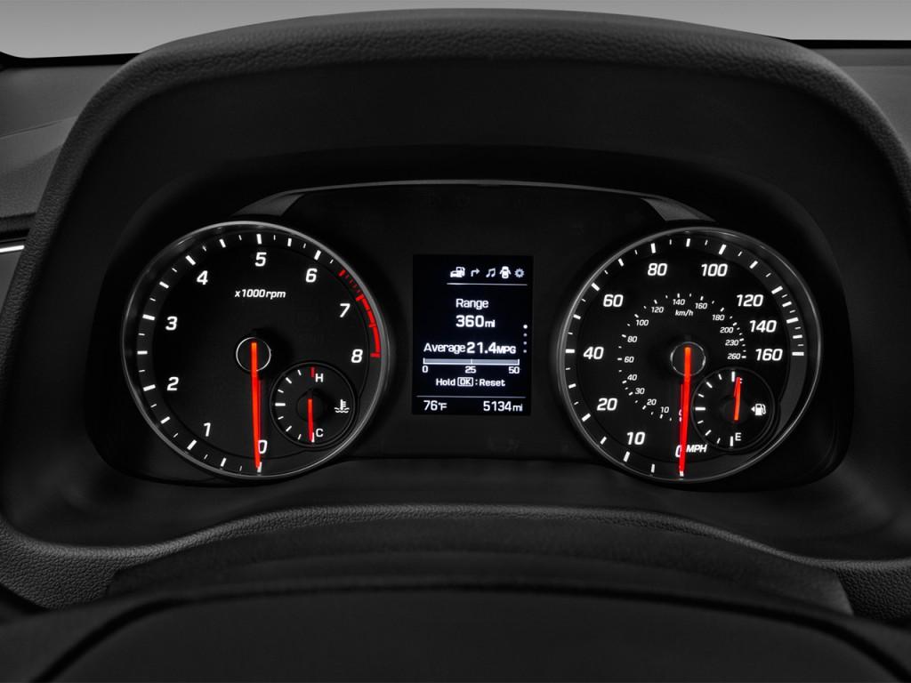 Hyundai Elantra Sport T Manual Ulsan Instrument Cluster L