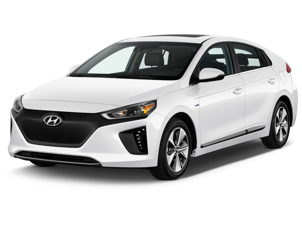 Image 2017 Hyundai Ioniq Electric Limited Hatchback Angular Front Exterior View Size 1024 X