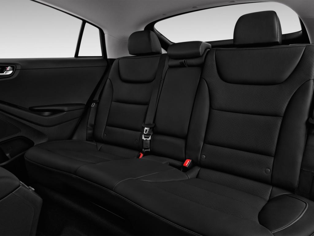 image 2017 hyundai ioniq electric limited hatchback rear. Black Bedroom Furniture Sets. Home Design Ideas