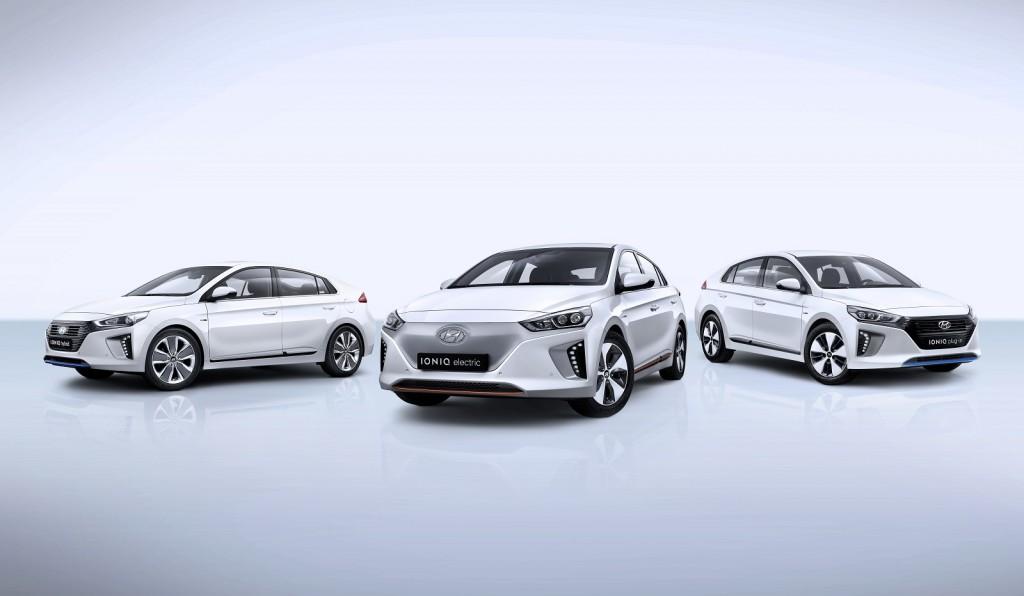 2017 Hyundai Ioniq Hybrid, Ioniq Electric, and Ioniq Plug-In