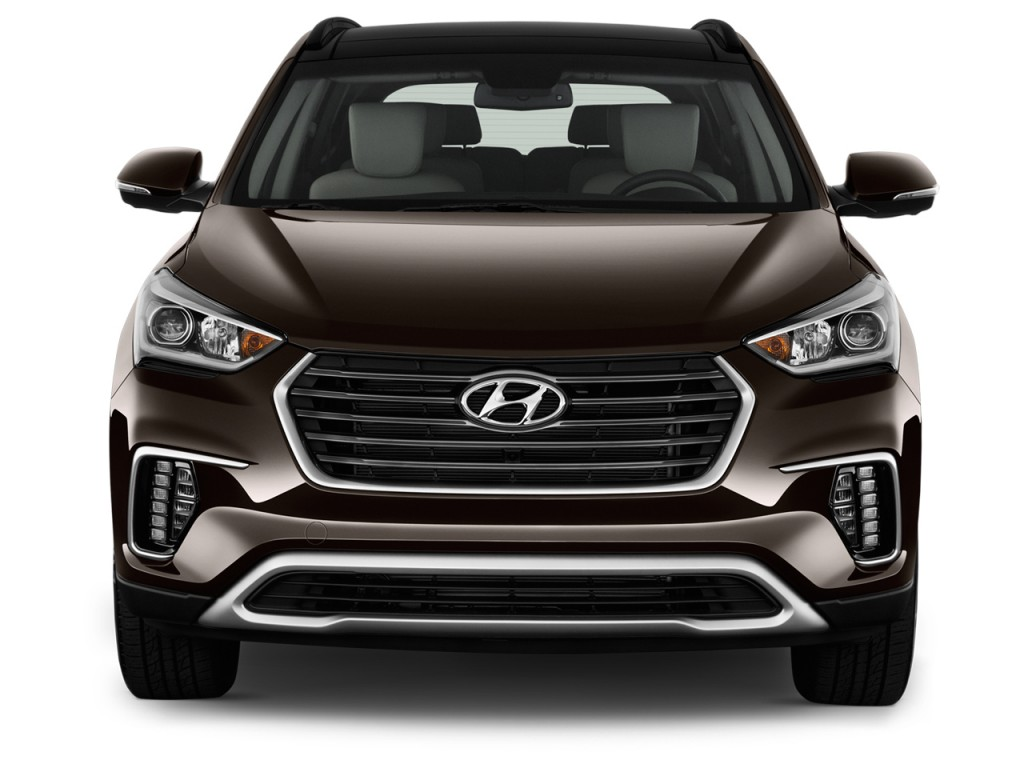 image 2017 hyundai santa fe limited ultimate 3 3l automatic front exterior view size 1024 x. Black Bedroom Furniture Sets. Home Design Ideas