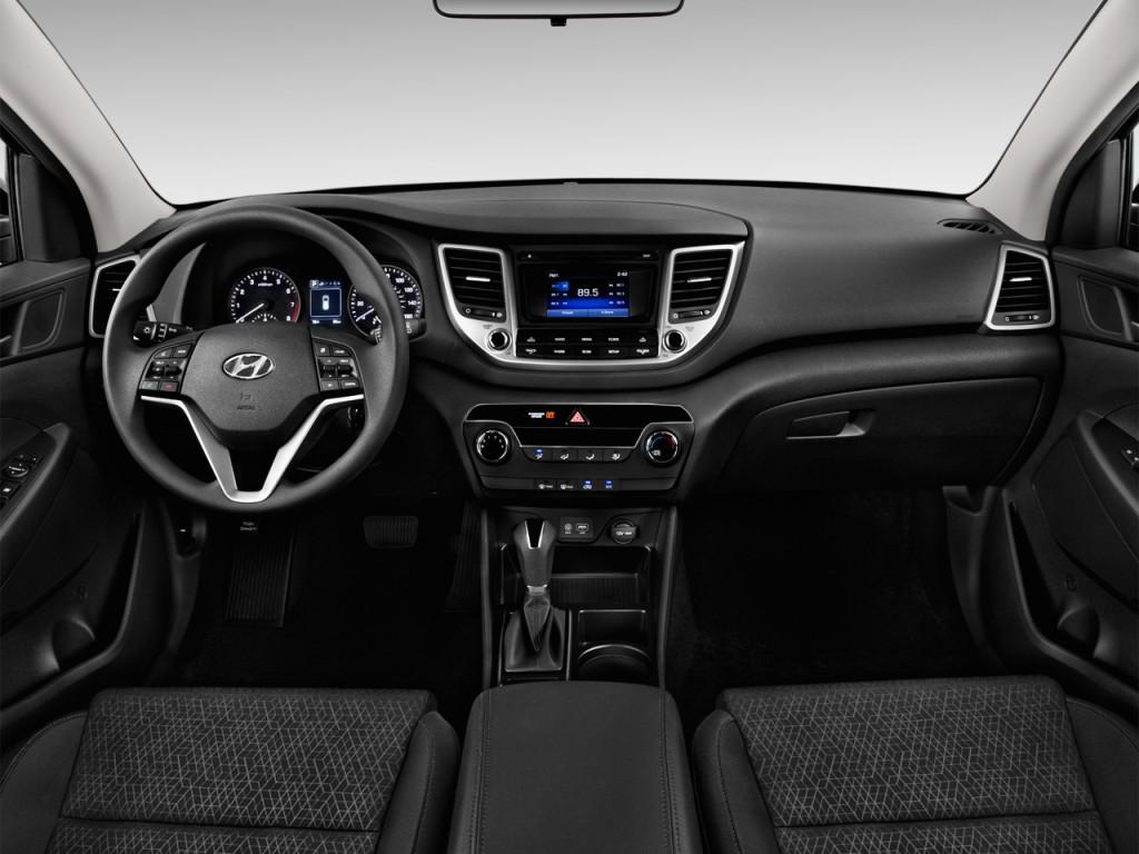 Image 2017 Hyundai Tucson Se Fwd Dashboard Size 1024 X
