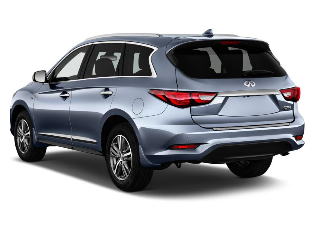 Subaru Pickup 2019 >> Image: 2017 Infiniti QX60 FWD Angular Rear Exterior View, size: 1024 x 768, type: gif, posted on ...