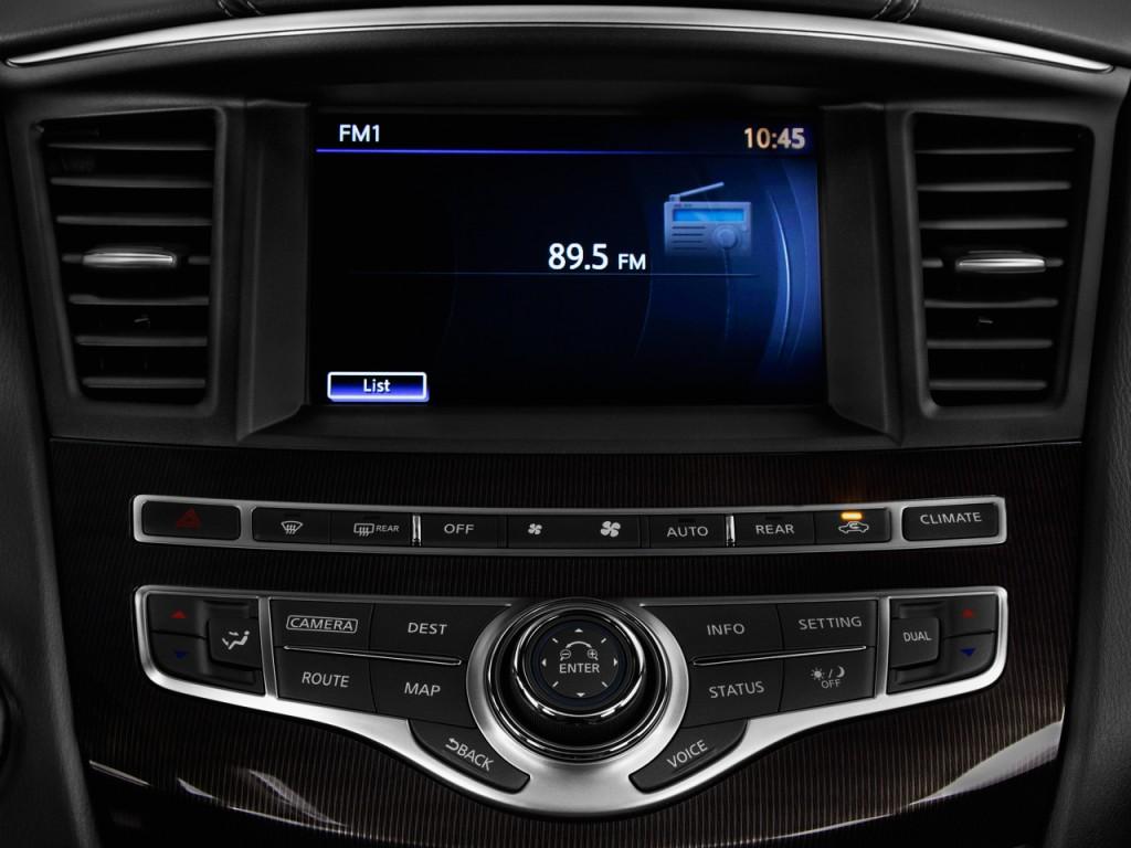 Image: 2017 INFINITI QX60 Hybrid FWD Audio System, size ...