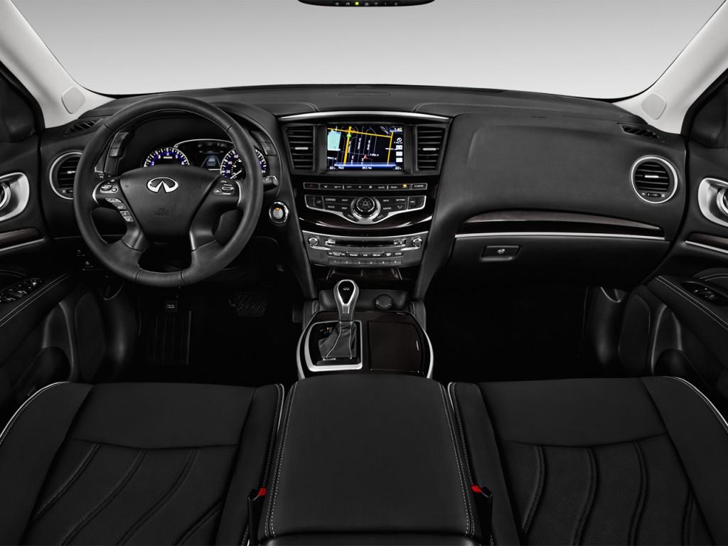 Image: 2017 INFINITI QX60 Hybrid FWD Dashboard, size: 1024 ...