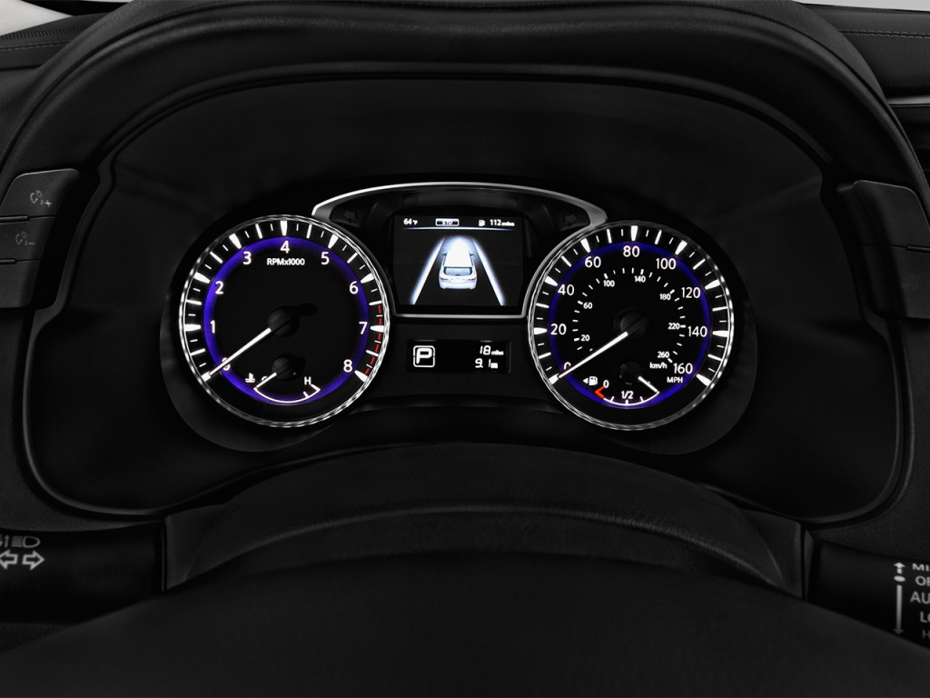 image 2017 infiniti qx60 hybrid fwd instrument cluster size 1024 x 768 type gif posted on. Black Bedroom Furniture Sets. Home Design Ideas