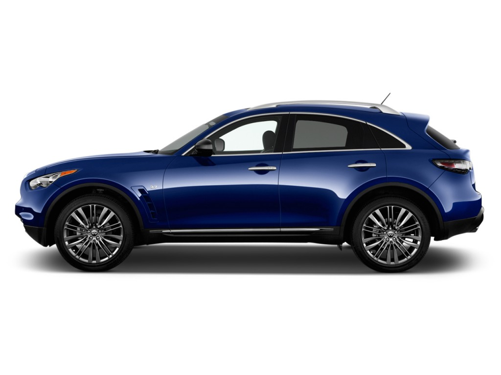 Used Infiniti Q60 >> Image: 2017 Infiniti QX70 RWD Side Exterior View, size: 1024 x 768, type: gif, posted on ...