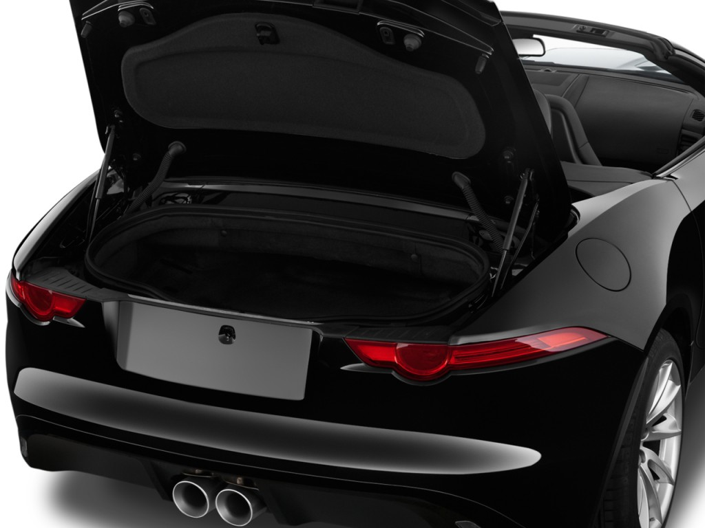 Image: 2017 Jaguar F-Type Convertible Automatic Trunk ...