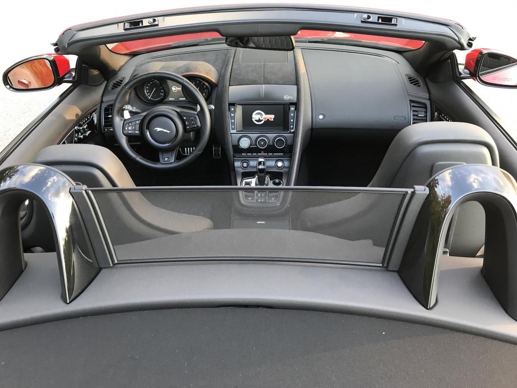 2017 Jaguar F-Type SVR convertible