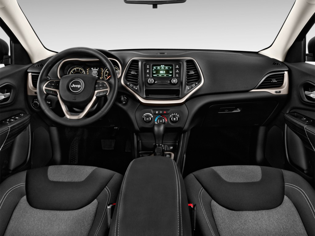 Image 2017 Jeep Cherokee Sport Fwd Dashboard Size 1024