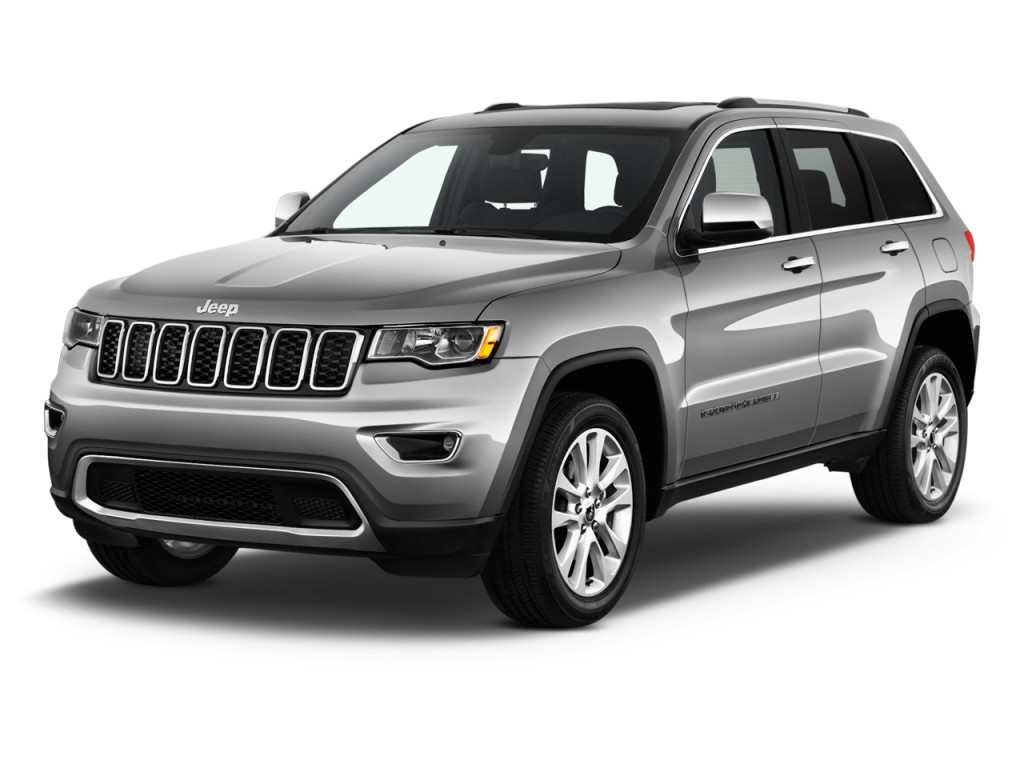 Image 2017 Jeep Grand Cherokee Limited 4x2 Angular Front