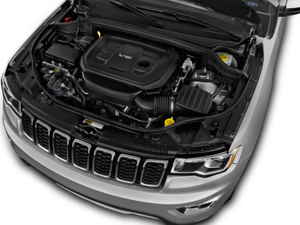 Image: 2017 Jeep Grand Cherokee Limited 4x2 Engine, size ...