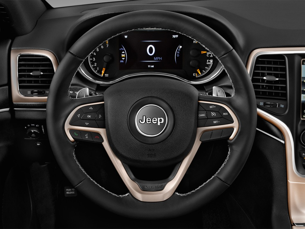 image 2017 jeep grand cherokee limited 4x2 steering wheel. Black Bedroom Furniture Sets. Home Design Ideas
