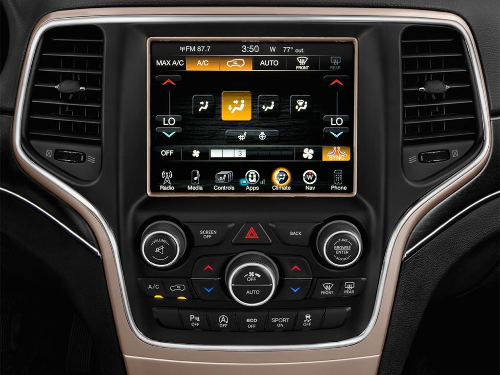 Image 2017 jeep grand cherokee limited 4x2 temperature - 2017 jeep cherokee limited interior ...
