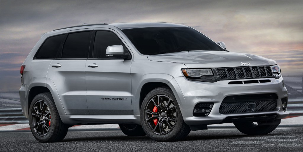 Jeep To Sell Grand Cherokee Trackhawk Alongside Srt