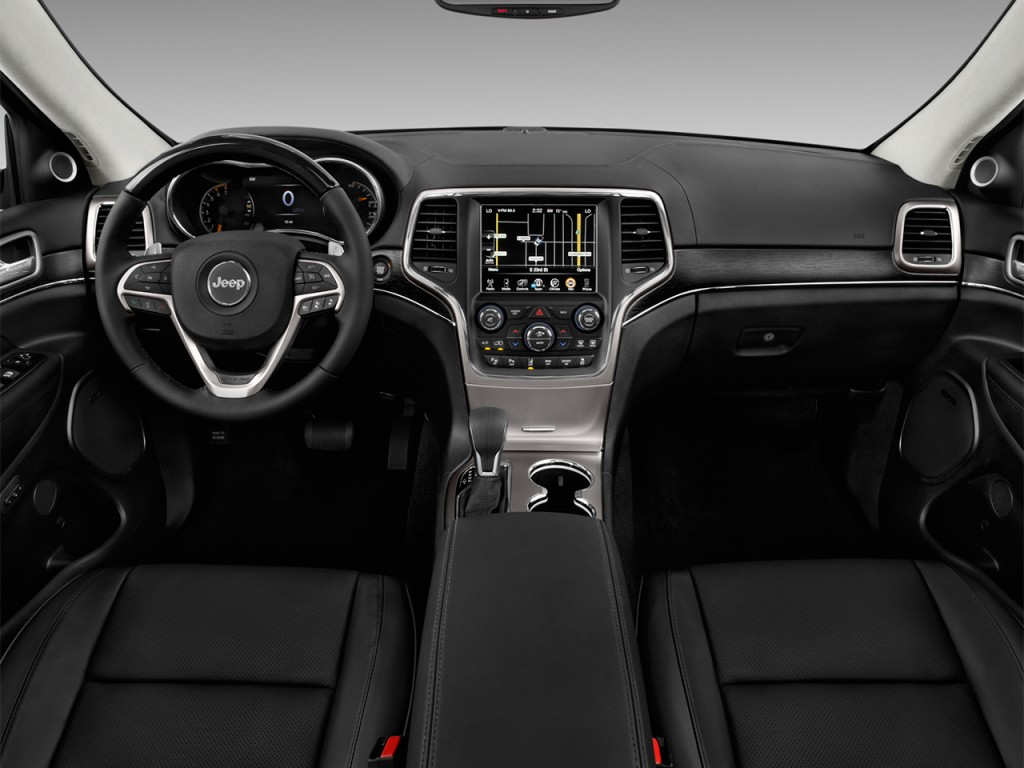 Image 2017 Jeep Grand Cherokee Summit 4x4 Dashboard Size